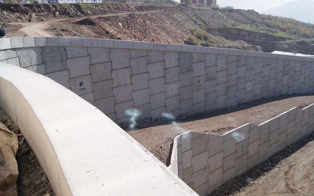 Yaratıcı ve yenilikçi istinat duvar sistemi: Toprakarme