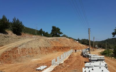 East Construction Project Realization in Bodrum, Aegean Regiona