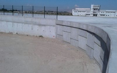 Successful application of MSE Wall, Reinforced Earth Walls in Airports by East Construction