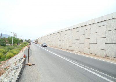 İzmir Turgutlu Ansızca Kavşağı Toprakarme Duvarları 1