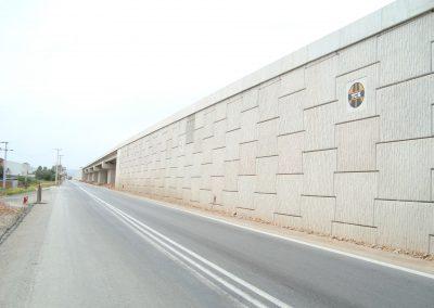 İzmir Turgutlu Ansızca Kavşağı Toprakarme Duvarları 2