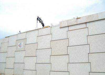 İzmir Turgutlu Ansızca Kavşağı Toprakarme Duvarları 3
