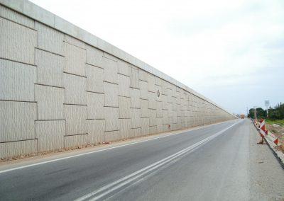 İzmir Turgutlu Ansızca Kavşağı Toprakarme Duvarları 4