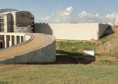 Ağrı Havaalanı Toprakarme Duvarları