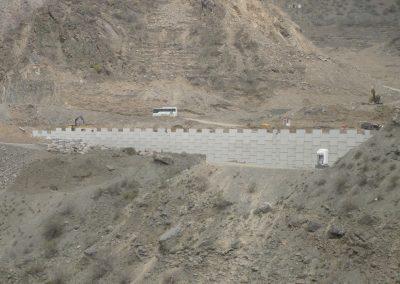 Artvin Barajı Polimer Şeritli İstinat Duvarları - Artvin Hydroelectric Plant Polymeric Reinforced Soil System Wall