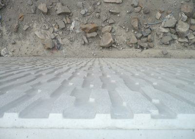 Artvin Barajı Polimer Şeritli İstinat Duvarları - Artvin Hydroelectric Plant Polymeric Reinforced Soil System Wall Toprak duvar - Toprakarme sistemleri - Reinforced earth systems