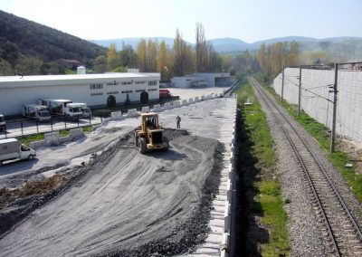 Bozüyük Köprü Kenar Ayakları ve İstinat duvarları - Bridge Abutments and Retaining Walls 2