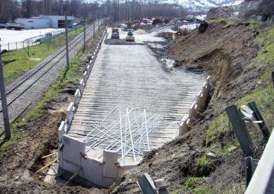 Bozüyük Köprü Kenar Ayakları ve İstinat duvarları - Bridge Abutments and Retaining Walls