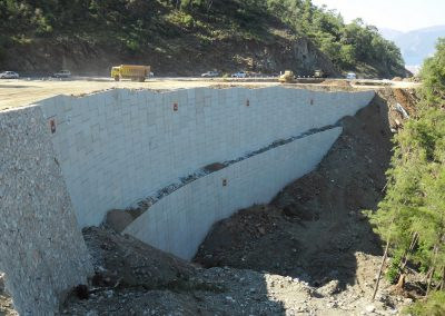 Gökova – Marmaris Yolu İstinat Duvarları – Highway Retaining Walls 10