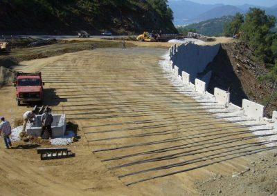 Gökova – Marmaris Yolu İstinat Duvarları – Highway Retaining Walls 2