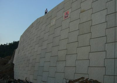 Gökova – Marmaris Yolu İstinat Duvarları – Highway Retaining Walls 4