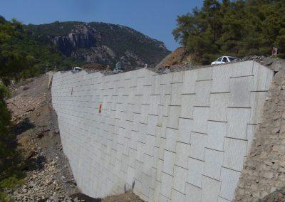 Gökova – Marmaris Yolu İstinat Duvarları – Highway Retaining Walls 5