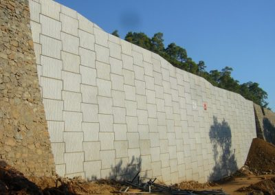 Gökova – Marmaris Yolu İstinat Duvarları – Highway Retaining Walls 9