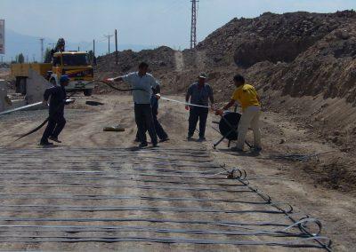 Kayseri – Kuzey Çevre Yolu DDY Altgeçit Köprüsü – North Ring Road – DDY Flyover Abutment 1