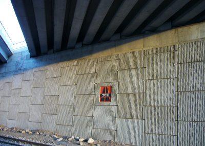 Kayseri – Kuzey Çevre Yolu DDY Altgeçit Köprüsü – North Ring Road – DDY Flyover Abutment 2
