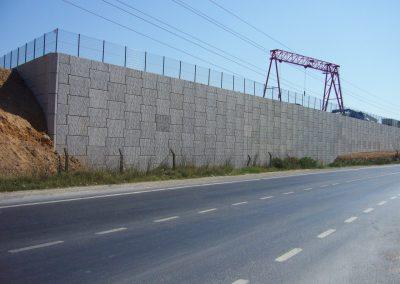 Sedef Tersanesi Tuzla İstinat Duvarı – Retaining Walls 2