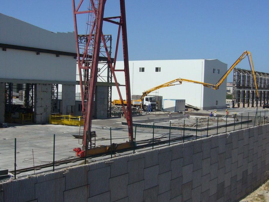 Sedef Tersanesi, Tuzla Organize Deri Sanayi Parselleri Çevre Duvarları